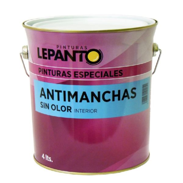 PINTURA ANTIMANCHAS BLANCO 4lt
